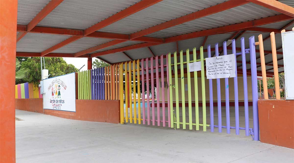 Otorgan clases presenciales en BCS 73 jardines de niños a 967 alumnos