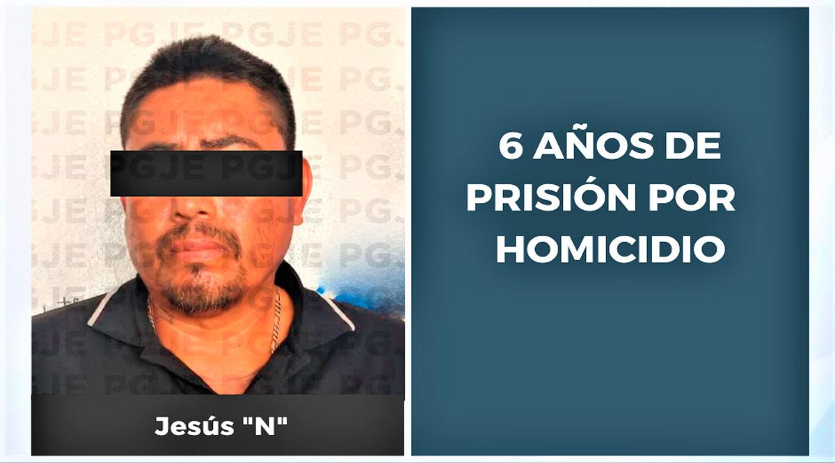 Culpable de homicidio pasará 6 años de prisión en Los Cabos