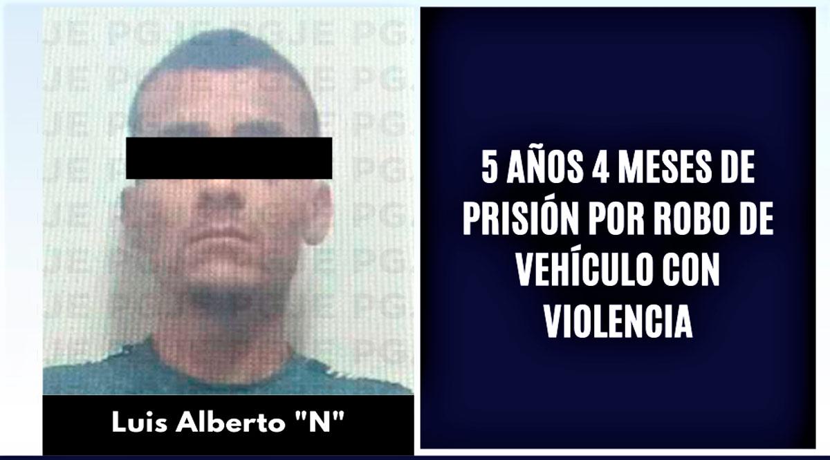 Por robo de vehículo con violencia sujeto estará 5 años y 4 meses en prisión en La Paz