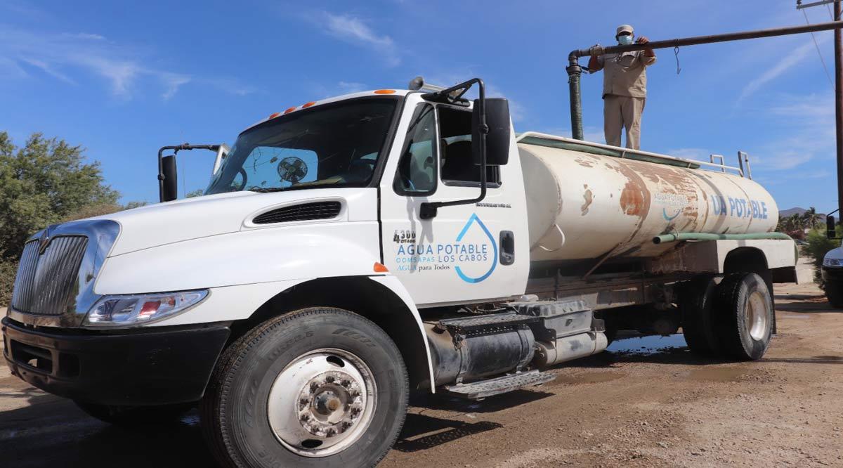 Se avanza hacia la normalización del servicio de agua en CSL