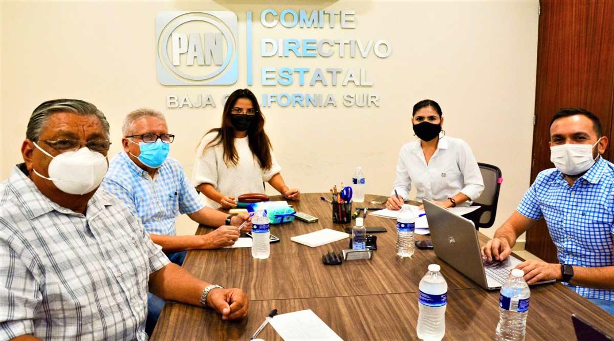 Se instaló Comisión Estatal Organizadora para renovar la dirigencia del PAN en BCS