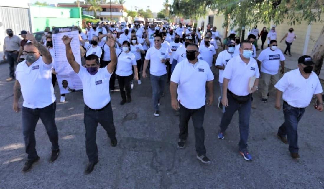 Se registró formalmente Francisco Morales por la dirigencia del Sindicato de Burócratas de La Paz