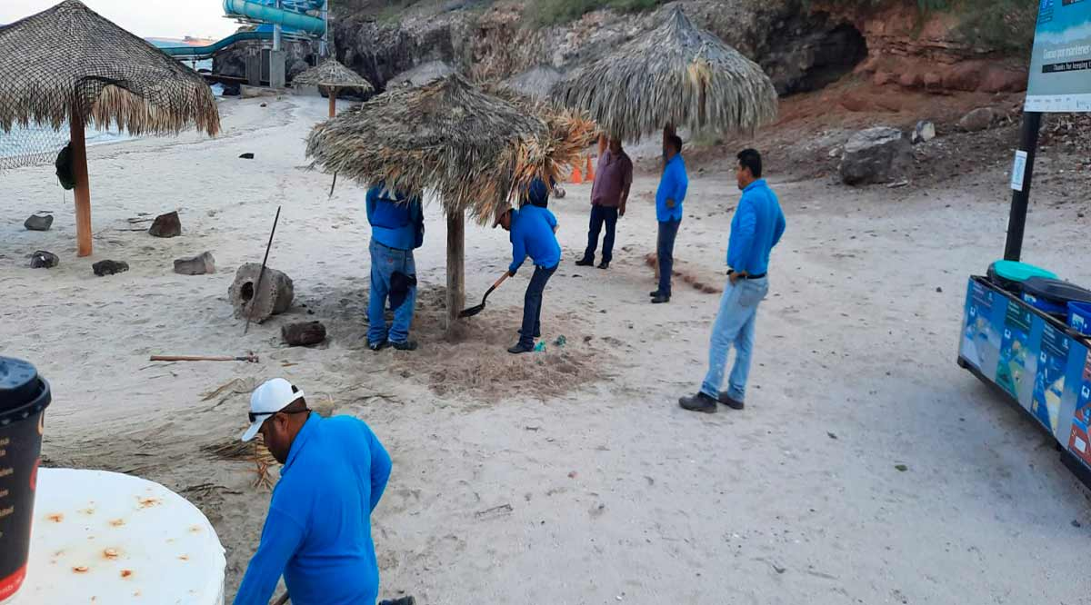 Reabren playa El Coromuel