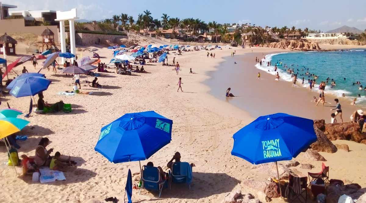 Se permite el 70% de aforo en las 11 playas abiertas en Los Cabos