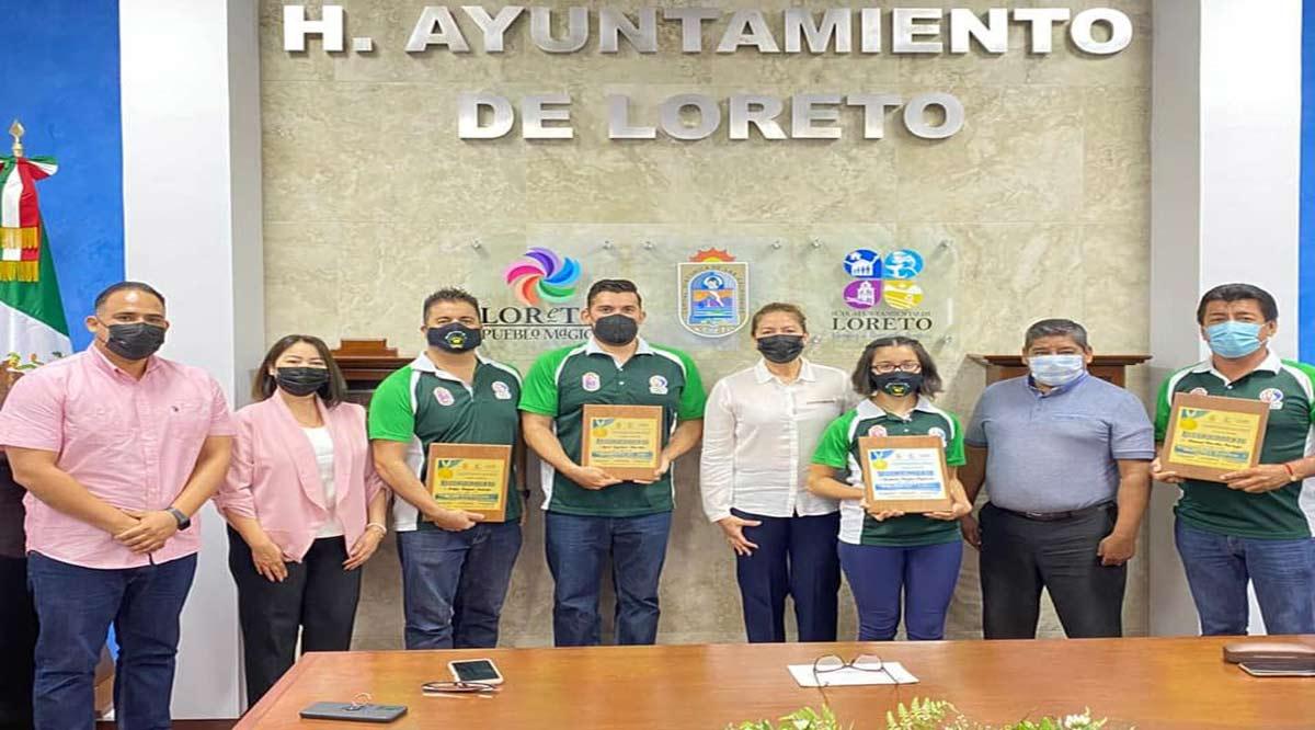 Entregan reconocimiento y estímulo económico a ganadores del Premio del Deporte en Loreto