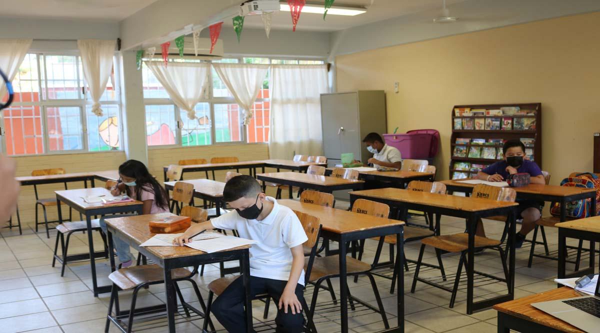 Superan los 13 mil alumnos de educación básica que asisten a clases presenciales en BCS