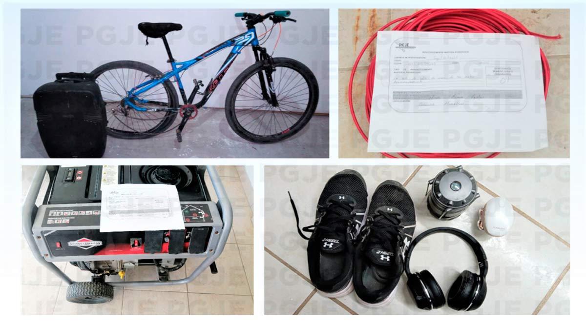 Recuperan y aseguran diversos artículos reportados como robados en BCS