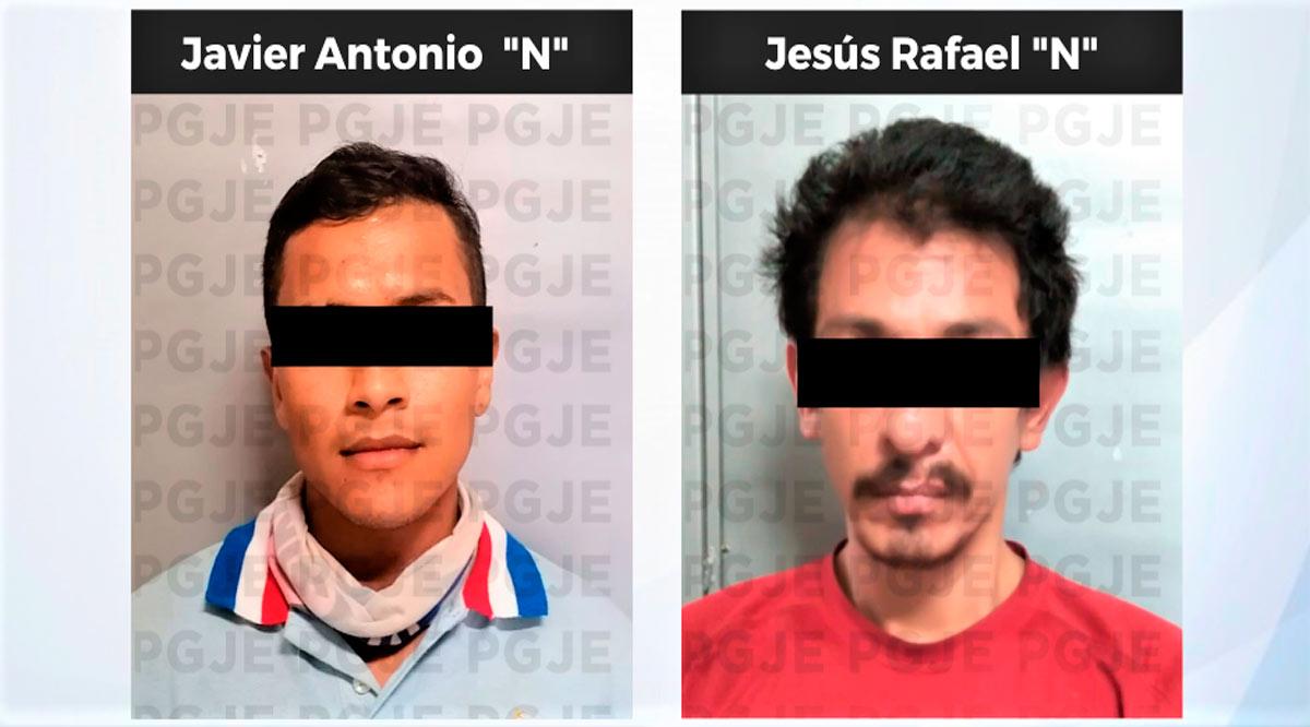 Quedaron en prisión preventiva par de imputados por robo con violencia en La Paz