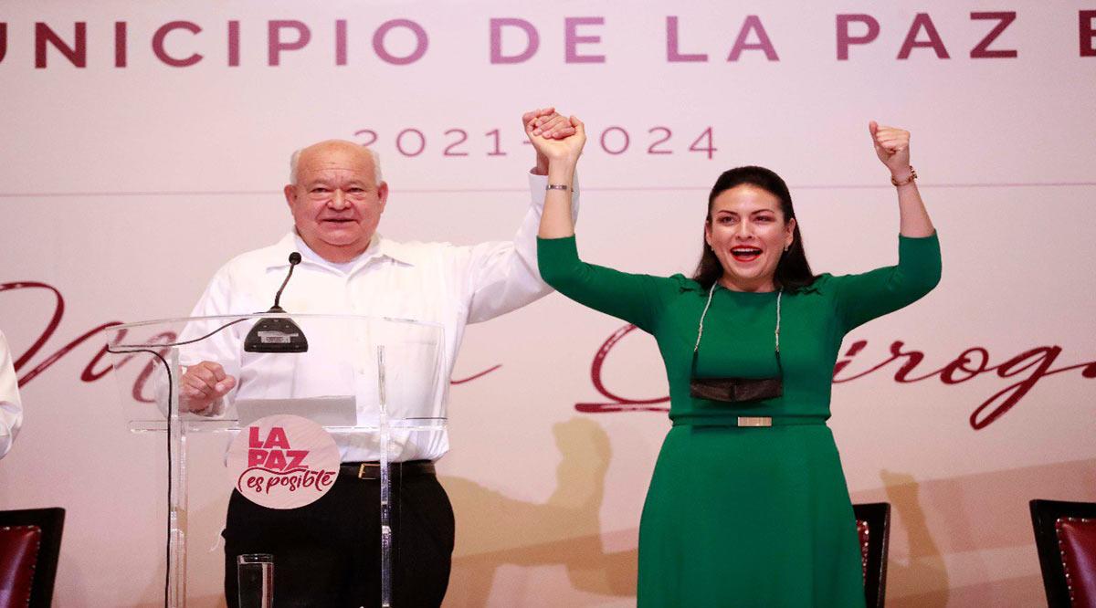 """""""Se impulsará el desarrollo en La Paz"""": Víctor Castro"""