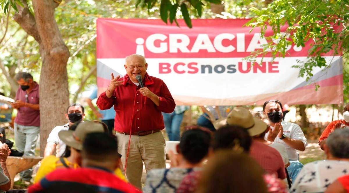 """""""Se acabarán los privilegios y se trabajará por un equilibrio en Los Cabos"""": Víctor Castro"""