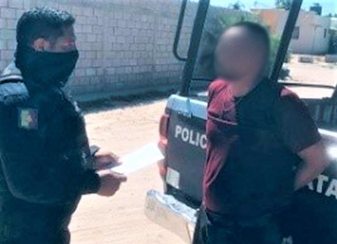 Detienen a un sujeto con posesión de cristal en La Paz