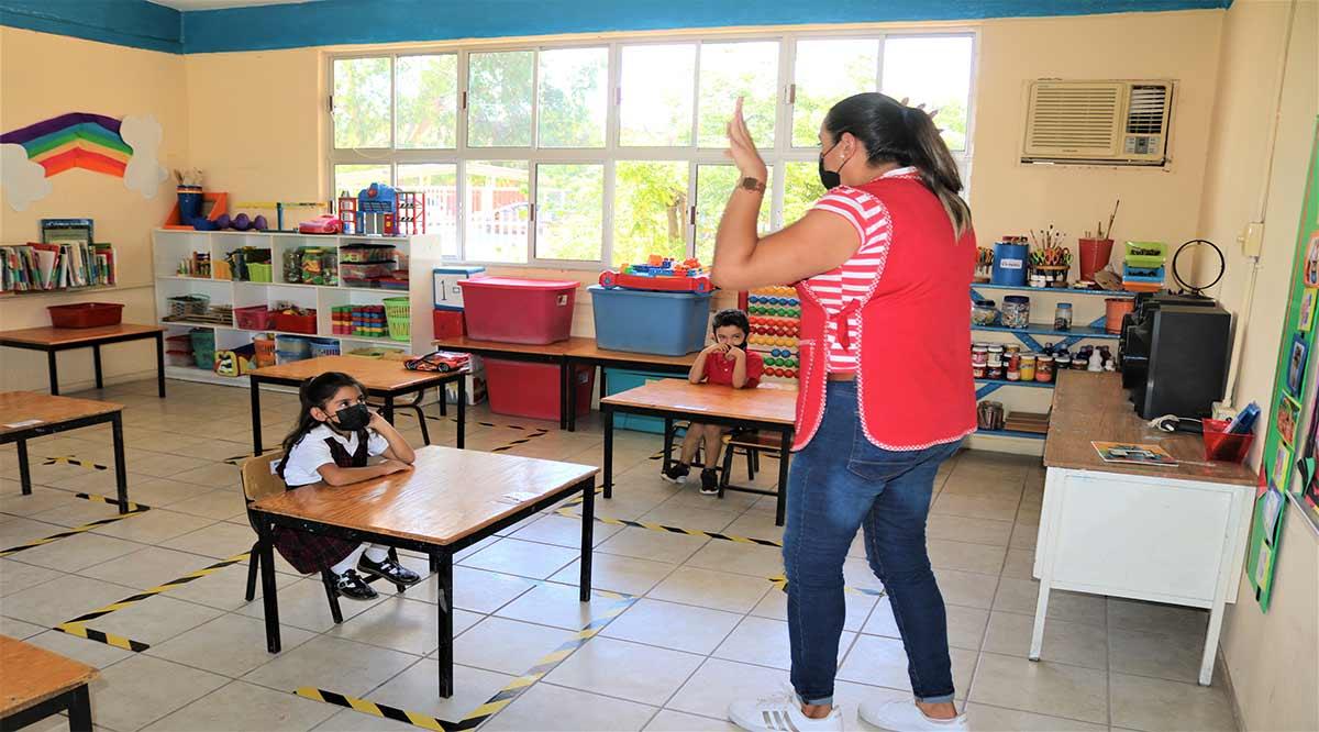 Faltan 170 escuelas por reparar en BCS; por ahora no hay alumnos contagiados