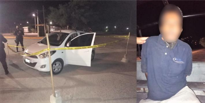 Capturan a sujeto en vehículo robado y localizan 2 más en La Paz