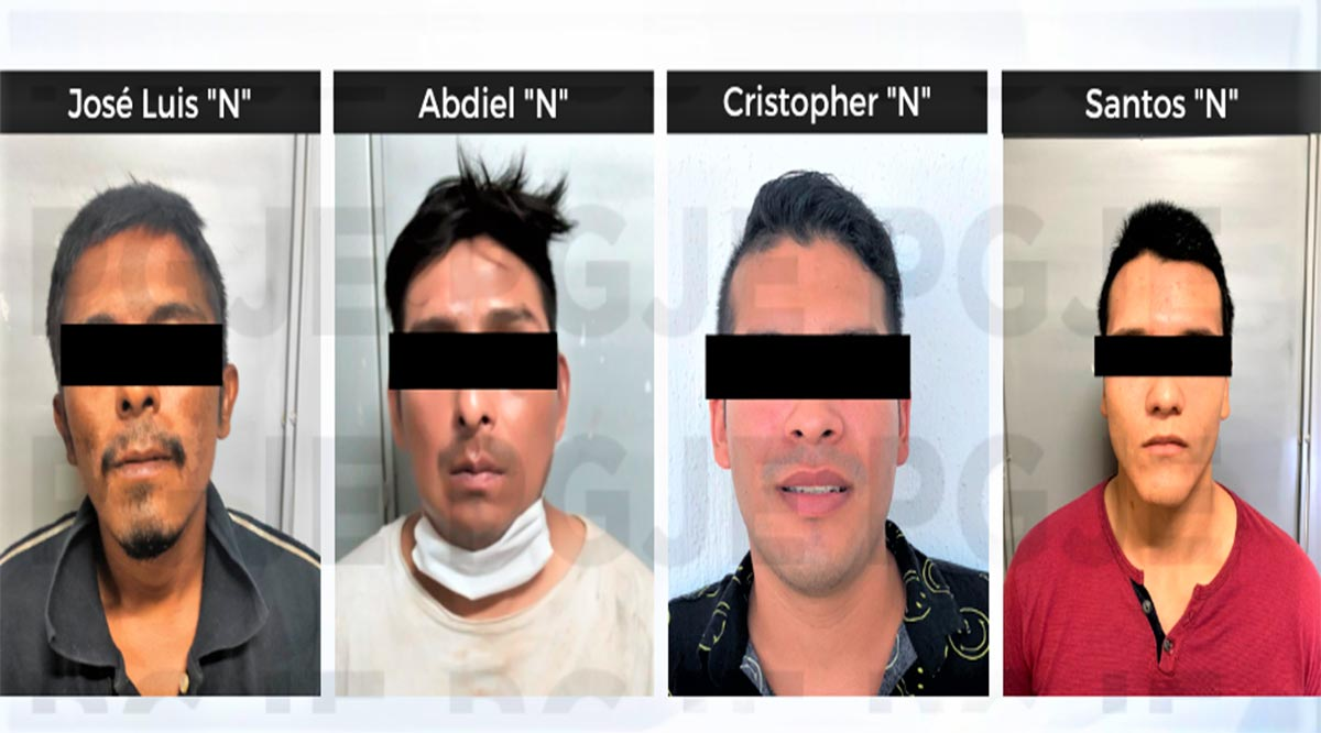 Aprehenden a 4 sujetos responsables de diversos delitos en BCS