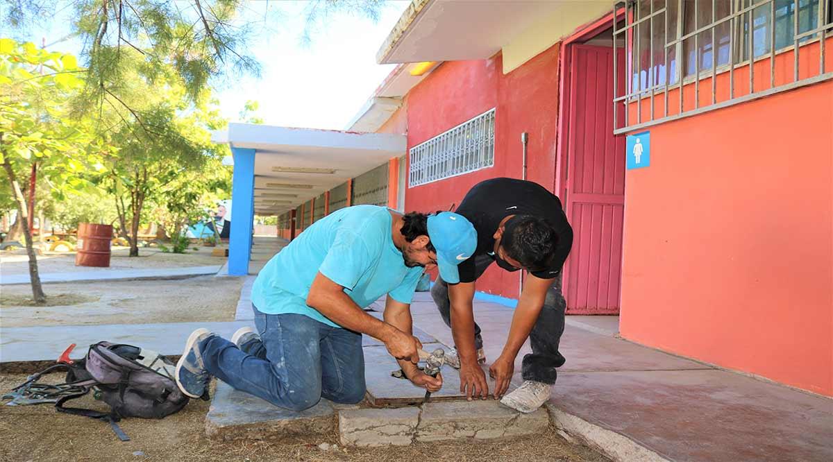 Se han rehabilitado el 63% de las escuelas de nivel básico en BCS