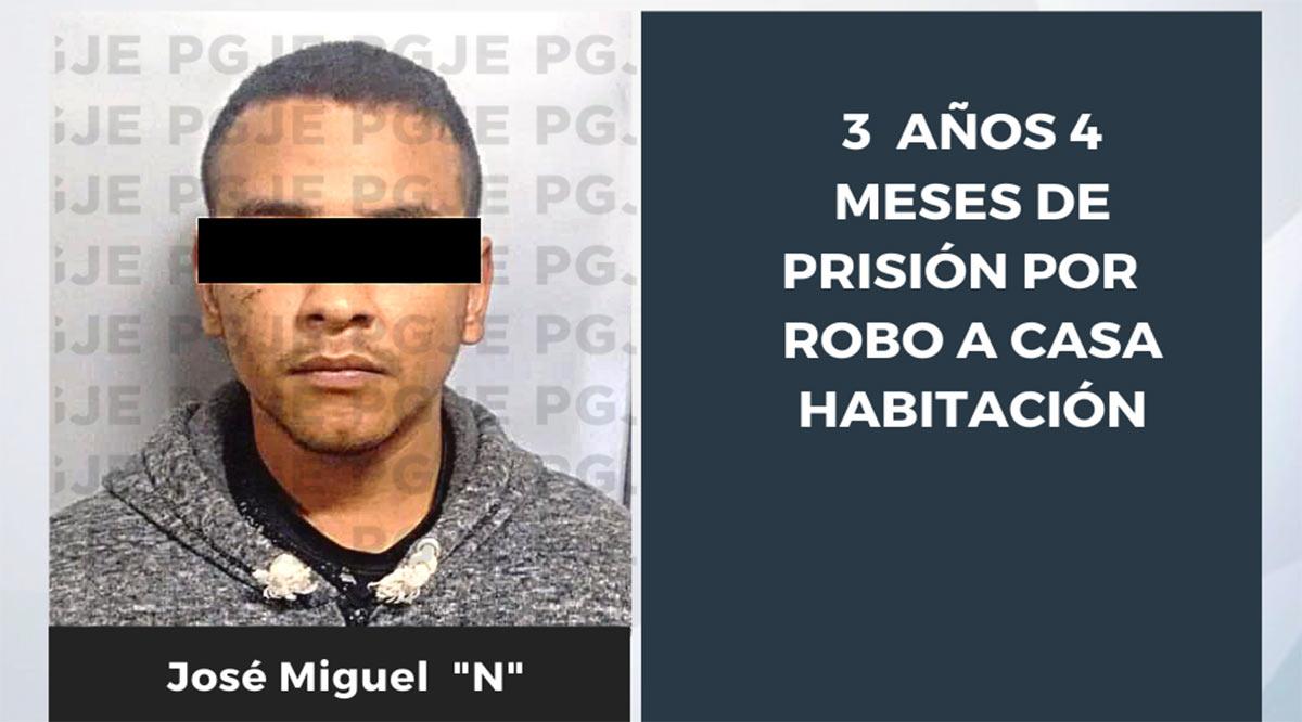 Sentenciado a 3 años 4 meses de prisión por robo en La Paz