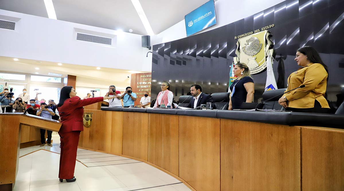 Rindió protesta Abigail Jiménez como nueva Magistrada del TSJE
