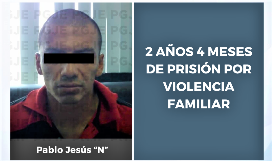Sentenciado a 2 años 4 meses de prisión por violencia familiar en La Paz