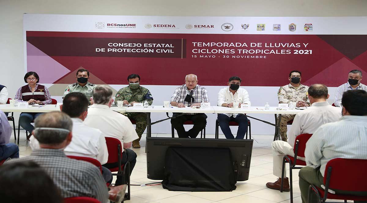 """Llama gobierno de BCS a la población a que atiendan indicaciones de Protección Civil por efectos de """"Pamela"""""""