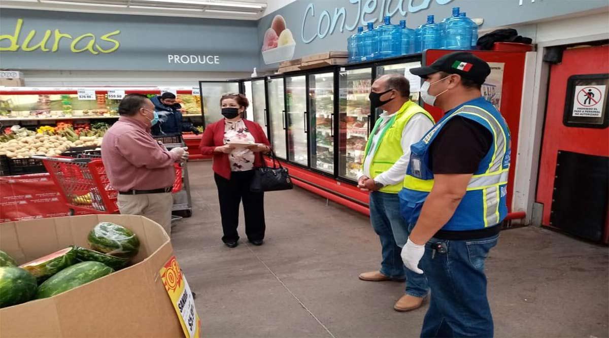 Deben supermercados y grandes almacenes abrir todas sus puertas: Coepris