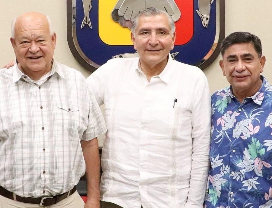 Plantea Víctor Castro a titular de SEGOB fortalecer la procuración e impartición de justicia
